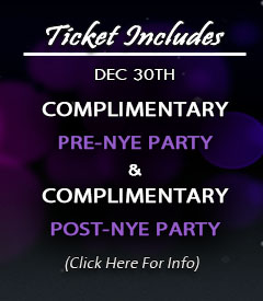 Complimentary PRE-NYE Party